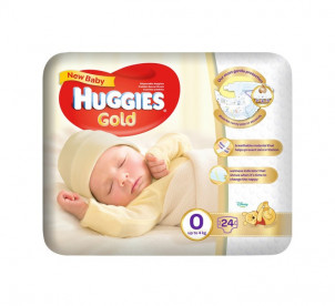 Huggies Extra Care (Size 0) 24s