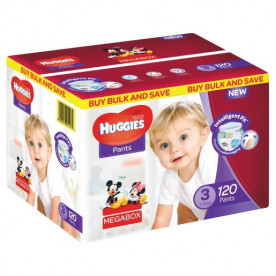 Huggies Pants Mega Box (Sizes 3,4,5,6)
