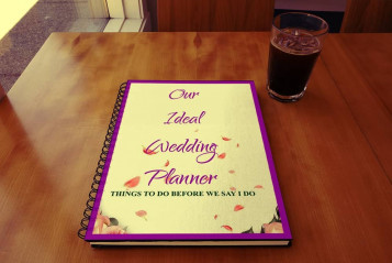 Ideal Wedding planning guide and journal