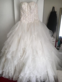 Viola Chan wedding ballgown for sale